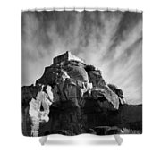 Chateau Des Baux Shower Curtain