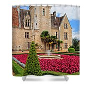 Chateau Des Milandes Shower Curtain