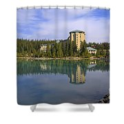 Chateau Lake Louise Shower Curtain