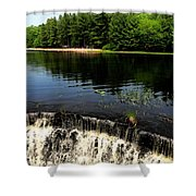 Chatfield Hollow Pond Shower Curtain