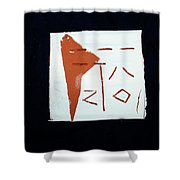 Chatter 2 Shower Curtain