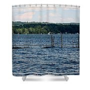 Chautauqua Lake  Shower Curtain