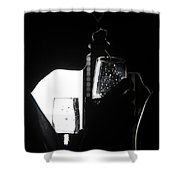 Cheers Before The Kiss Shower Curtain