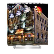 Cheli's Chili Bar Detroit Shower Curtain