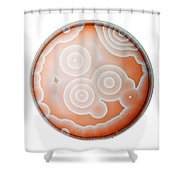 Chemical Waves In Bz Reagent 5 Of 9 Shower Curtain