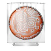 Chemical Waves In Bz Reagent 6 Of 9 Shower Curtain
