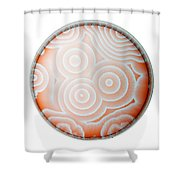 Chemical Waves In Bz Reagent 9 Of 9 Shower Curtain