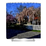 Cherry Blossoms Cbwc Shower Curtain