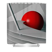 Cherry Float Shower Curtain