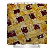 Cherry Pie 3782 Shower Curtain