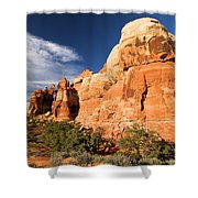 Chesler Park At Canyonlands National Park Shower Curtain