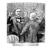 Chester Alan Arthur Shower Curtain