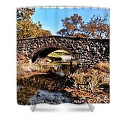 Chester County Bow Bridge Shower Curtain