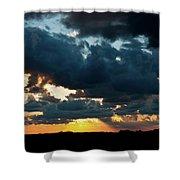 Chestnut Ridge Sunset 2642 Shower Curtain