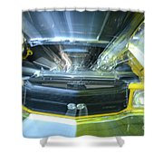 Chevele Super Sport Shower Curtain