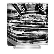 Chevelle - Black And White Shower Curtain