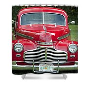 Chevrolet 1941 Shower Curtain