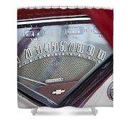 Chevrolet 3100 Truck Speedometer Shower Curtain