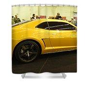 Chevrolet Camaro Bumblebee Shower Curtain