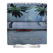 Chevrolet Corvette Shower Curtain