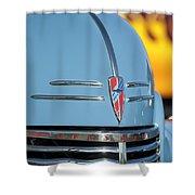 Chevrolet Hood Emblem 2 Shower Curtain