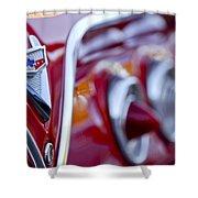 Chevrolet Impala Emblem Shower Curtain