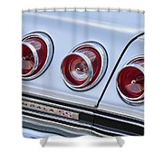 Chevrolet Impala Ss Taillight Shower Curtain