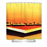 Chevrolet Shower Curtain