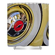 Chevrolet Tires Shower Curtain