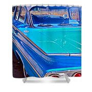 Chevy Bel Air Shower Curtain