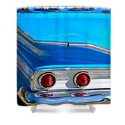 Chevy Bel Air Fin Shower Curtain