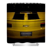 Chevy Camaro Covertible Rs Tail Shower Curtain