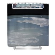 Chevy Coupe Rear Window Shower Curtain