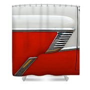 Chevy Door Shower Curtain
