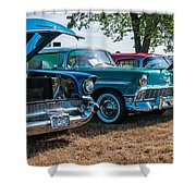 Chevy Row Shower Curtain