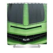 Chevy Ss Emblem Shower Curtain