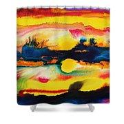 Cheyenne Sunset Shower Curtain