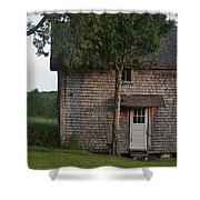 Chez Cheryl Shed Shower Curtain