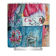 Chic Street Consignments Shower Curtain