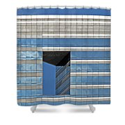 Chicago Architecture 2 Shower Curtain