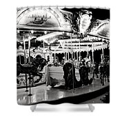 Chicago Carousel Shower Curtain