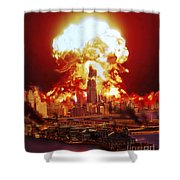 Chicago Disintegrates As A Nuclear Shower Curtain