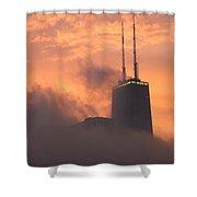 Chicago Dusk Shower Curtain