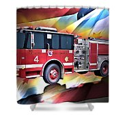 Chicago Eng 4 Shower Curtain