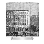 Chicago: Fire, 1868 Shower Curtain