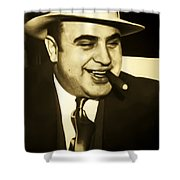 Chicago Gangster Al Capone Shower Curtain