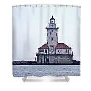 Chicago Impressions 9 Shower Curtain