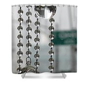 Chicago In The Bubble Shower Curtain