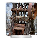 Chicago Iron Works Shower Curtain