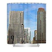 Chicago Panorama 1 Shower Curtain